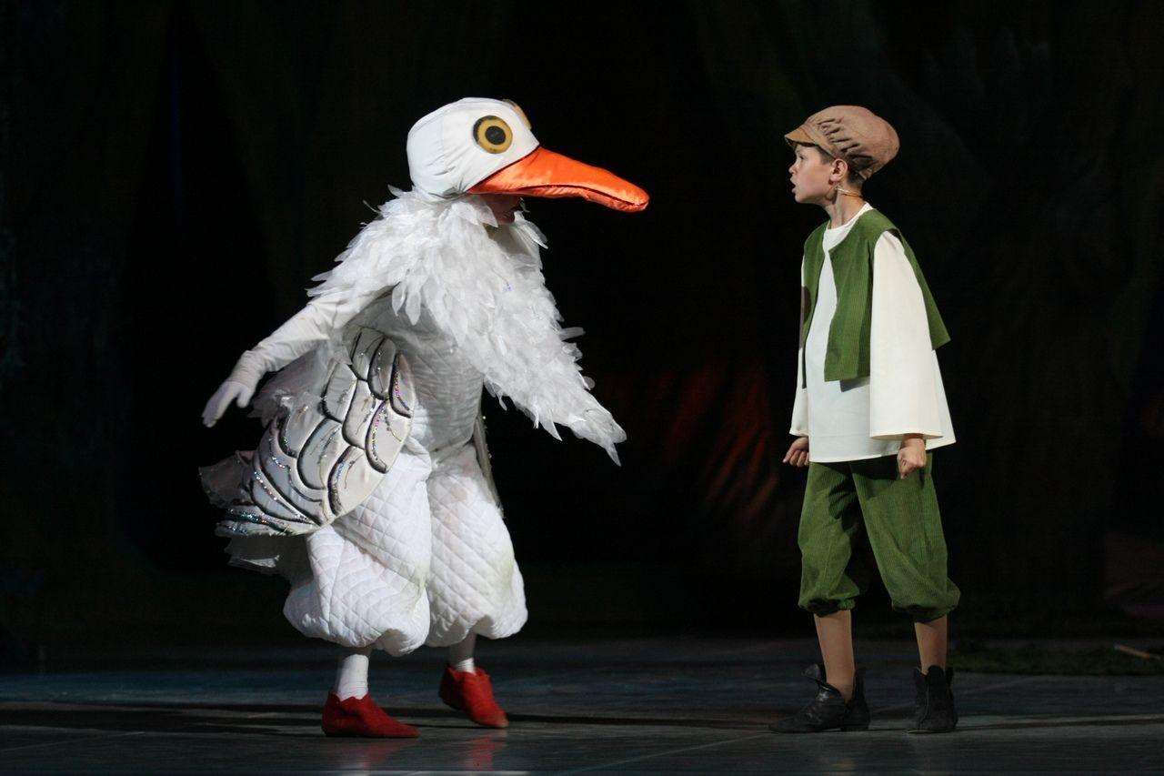 Спектакль «Путешествие Нильса с дикими гусями» ©Фото Татьяны Зубковой