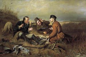 «Охотники на привале», Василий Перов, 1871 год, Государственная Третьяковская галерея © Фото commons.wikimedia.org