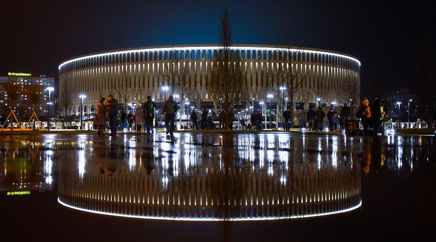 Стадион ФК «Краснодар» © Фото Елены Синеок, Юга.ру