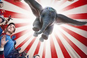 Постер фильма «Дамбо», реж. Тим Бертон, 2019 год © Фото с сайта kinopoisk.ru