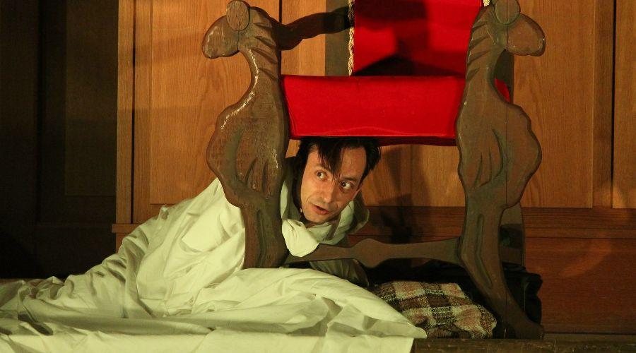 Спектакль «Записки сумасшедшего» © Фото из группы «Краснодарский молодёжный театр» «ВКонтакте» vk.com/molodezhnyj_teatr