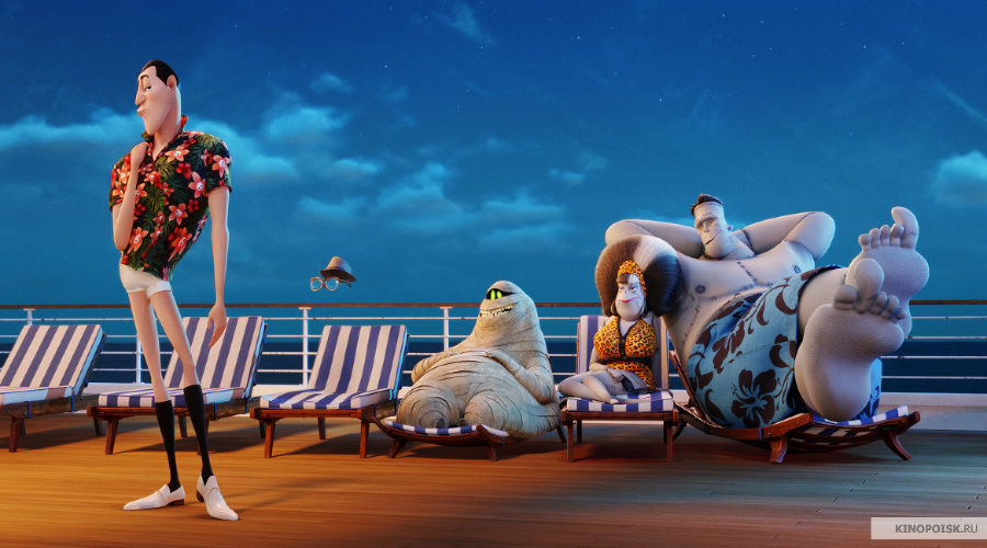 Кадр из фильма «Монстры на каникулах 3: Море зовет» © Фото с сайта kinopoisk.ru