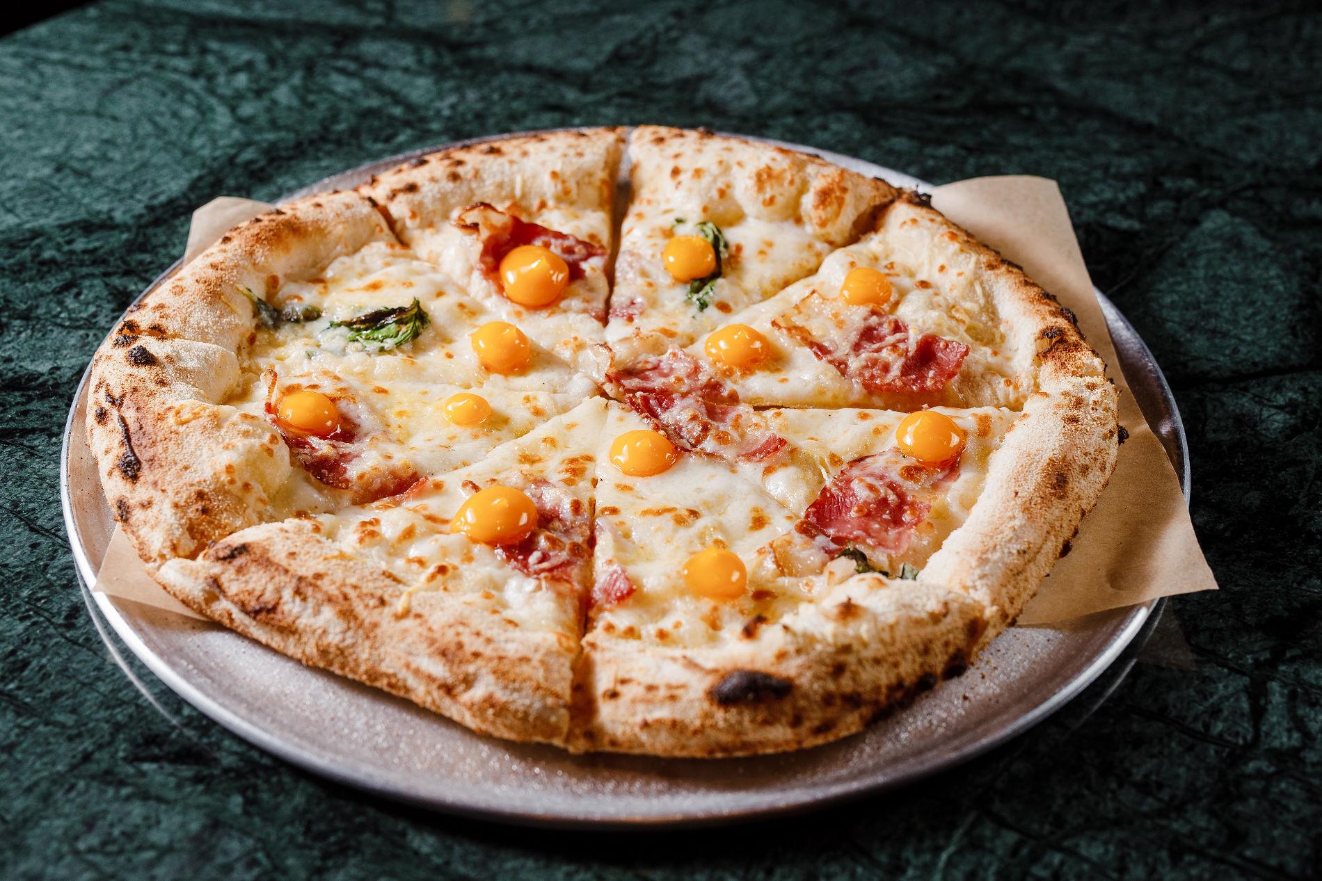 Пицца «Карбонара» ©Фотография предоставлена заведением