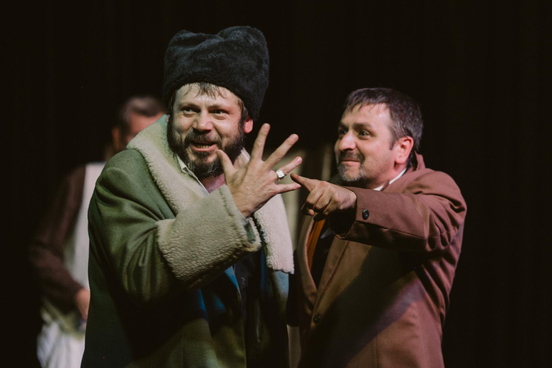 Евгений Ясинский и Эдуард Юрков в спектакле «Кредиторы»