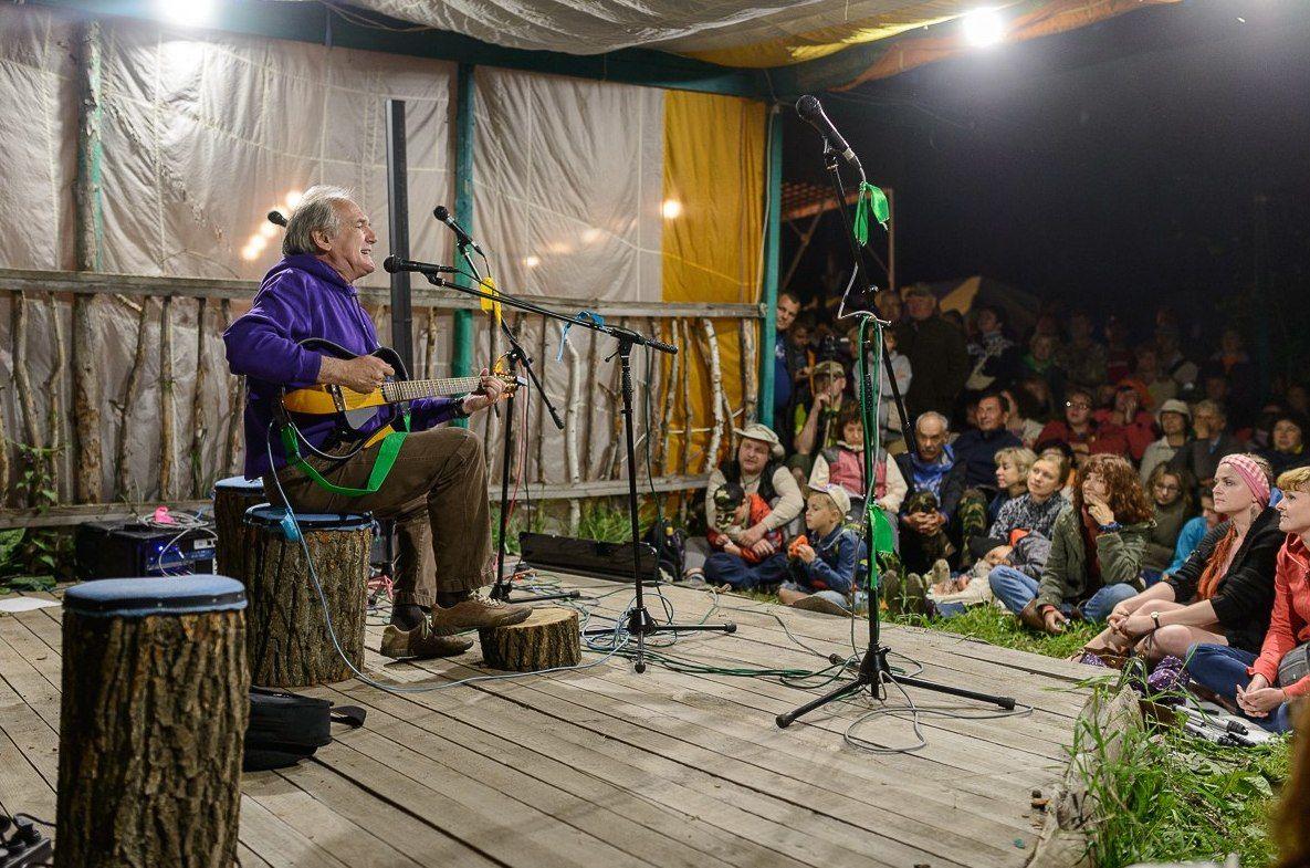 Грушинский фестиваль ©Фото Дмитрия Рузова