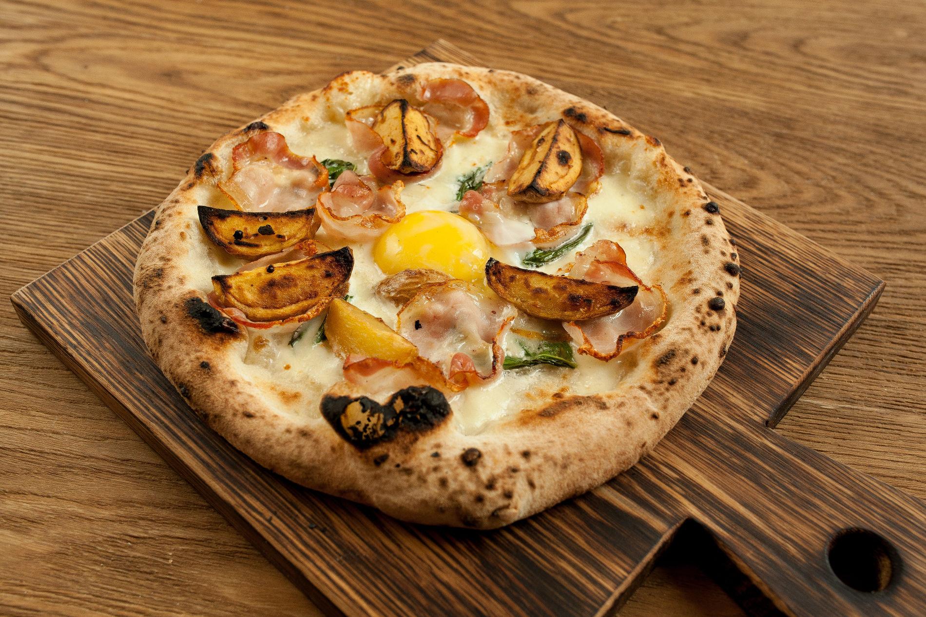 Пицца «Потейто порк»