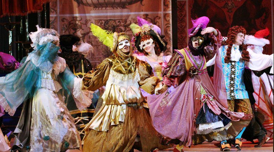 Спектакль «Ночь в Венеции» © Фото Татьяны Зубковой