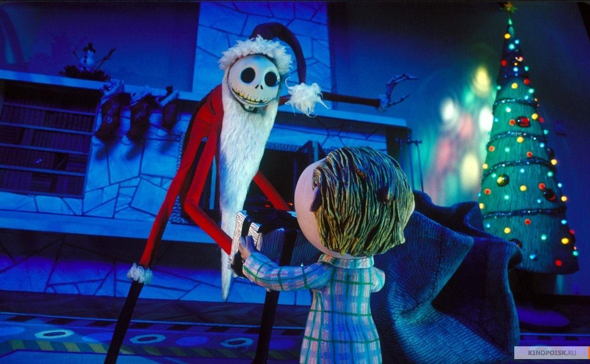 Кадр из фильма «Кошмар перед Рождеством», реж. Генри Селик, 1993 год