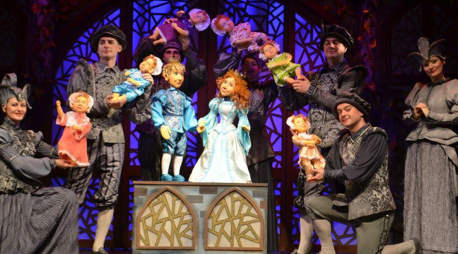 Спектакль «Невесомая принцесса» © Фото пресс-службы Краснодарского краевого театра кукол