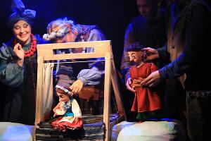 Кадр из спектакля «Ночь перед Рождеством» © Фотография предоставлена пресс-службой КМТО «Премьера»