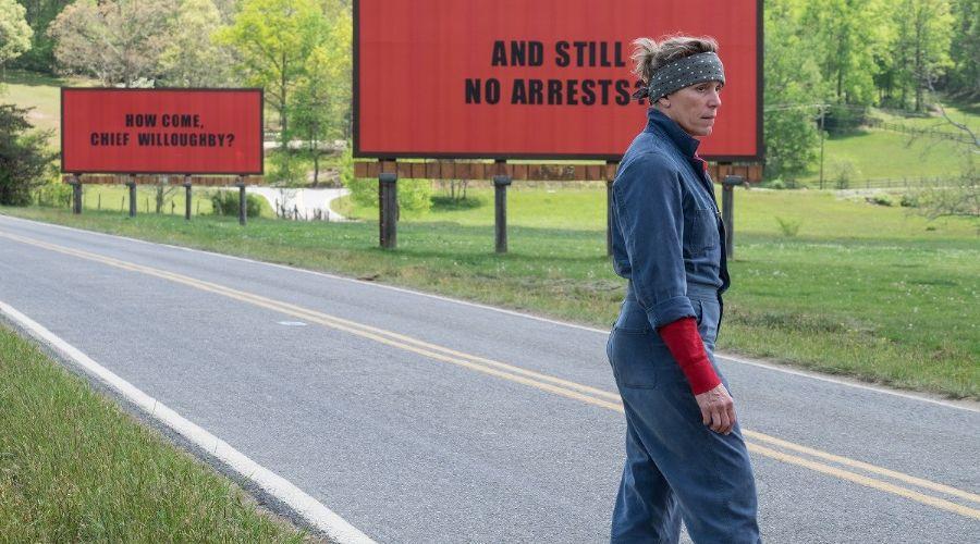 Кадр из фильма «Три билборда на границе Эббинга, Миссури» © Фото с сайта kinopoisk.ru