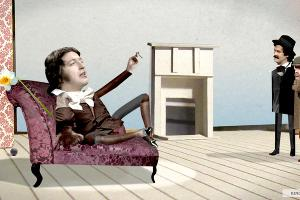 Кадр из мультфильма «Автобиография лжеца» ©Фото с сайта kinopoisk.ru