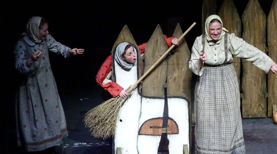 Гуси-лебеди © Фото из группы «Краснодарский Краевой Театр Кукол» «ВКонтакте» vk.com/club14341436