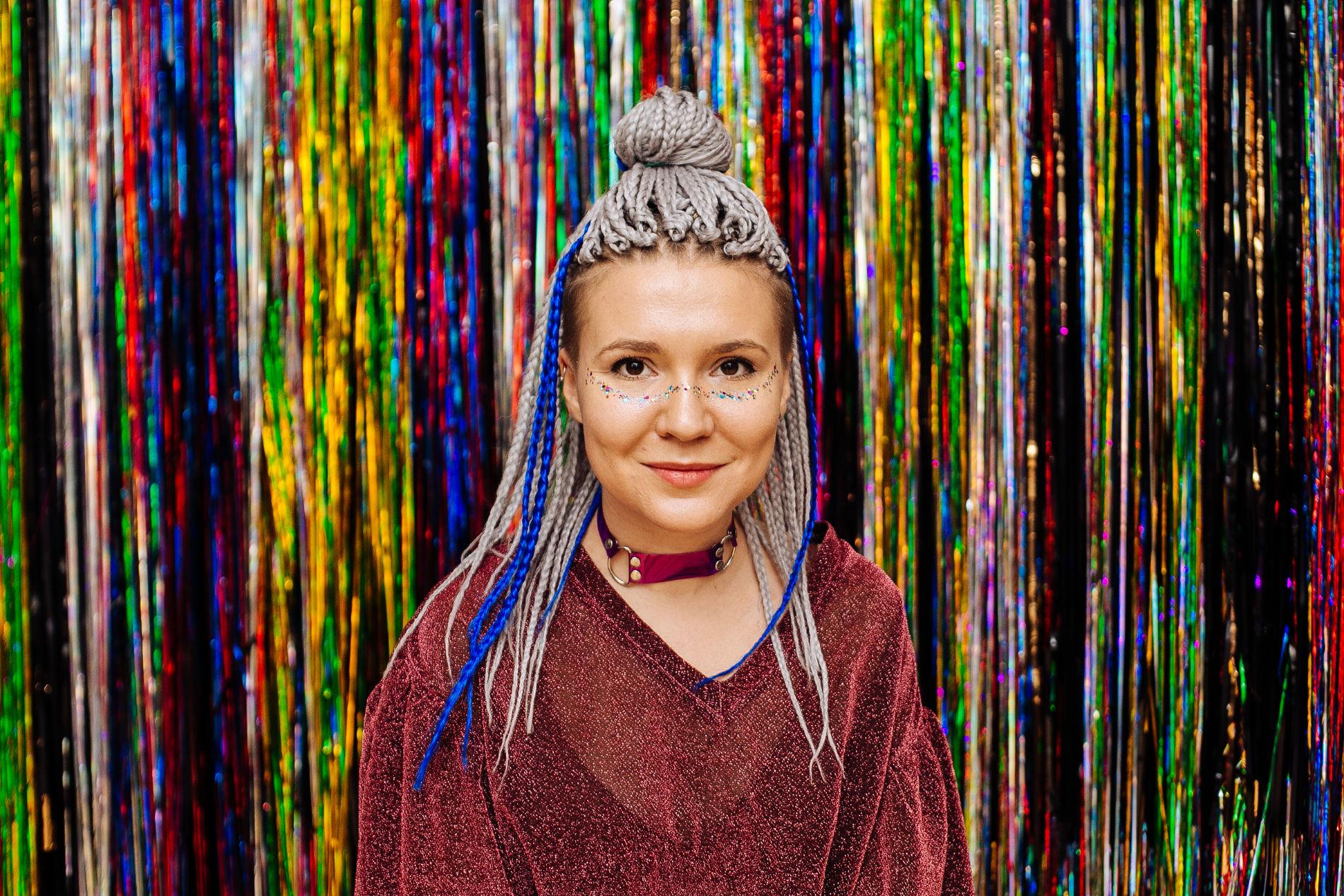 Оксана Аулова (Волуа) ©Фото из личного архива Оксаны Ауловой