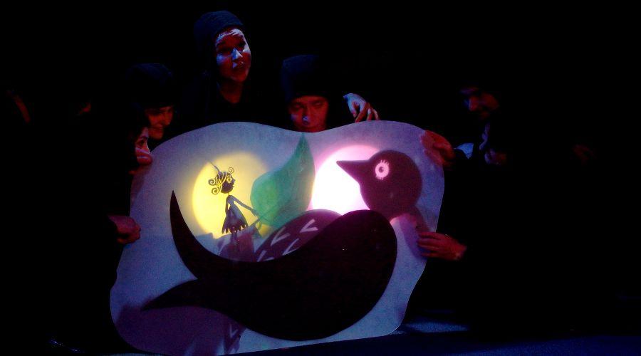 Спектакль «Дюймовочка» © Фото пресс-службы КМТО «Премьера»