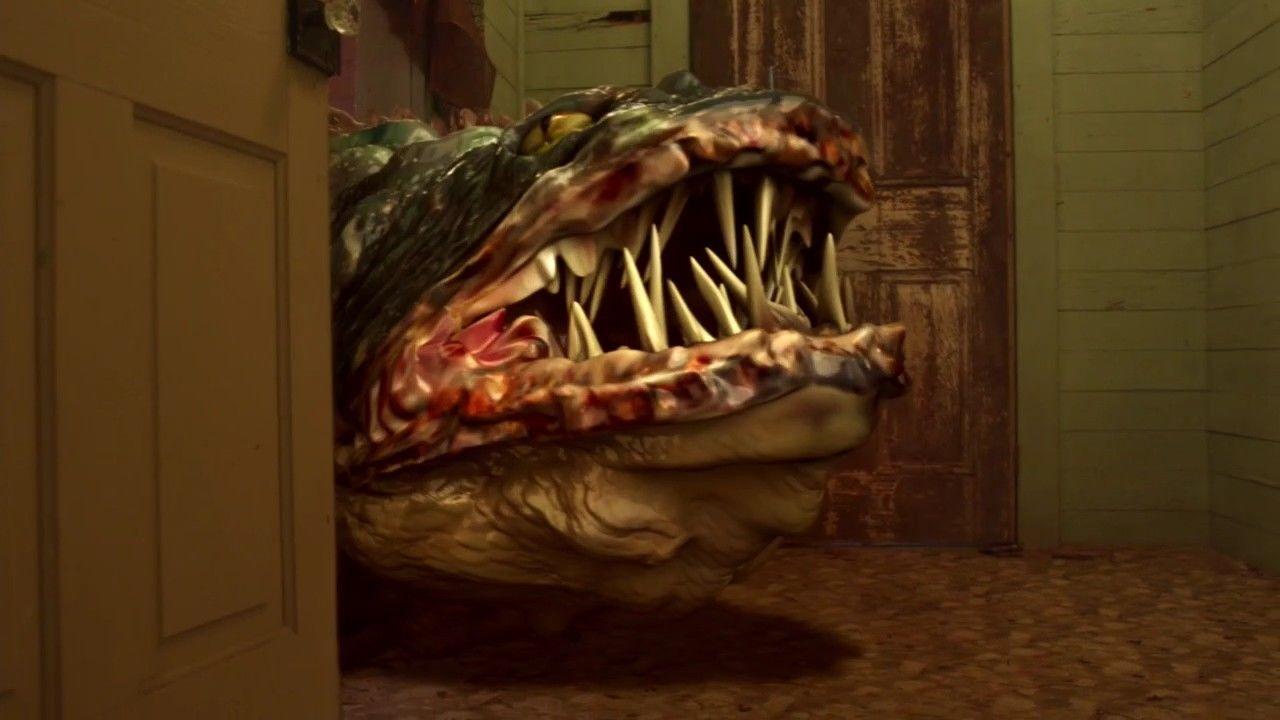 Кадр из фильма «Болото змееголовов», 2014 год, реж. Дон Э. ФонтЛеРой