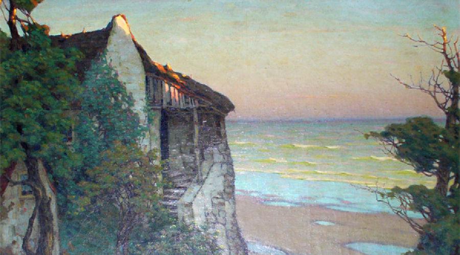 Виктор Зарубин (1866—1928). Дом у моря. Бретань. 1916, холст, масло © Фото Юга.ру