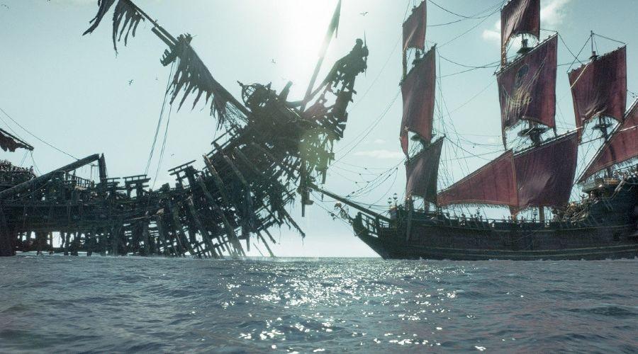 Кадр из фильма «Пираты Карибского моря: Мертвецы не рассказывают сказки» © Фото с сайта kinopoisk.ru
