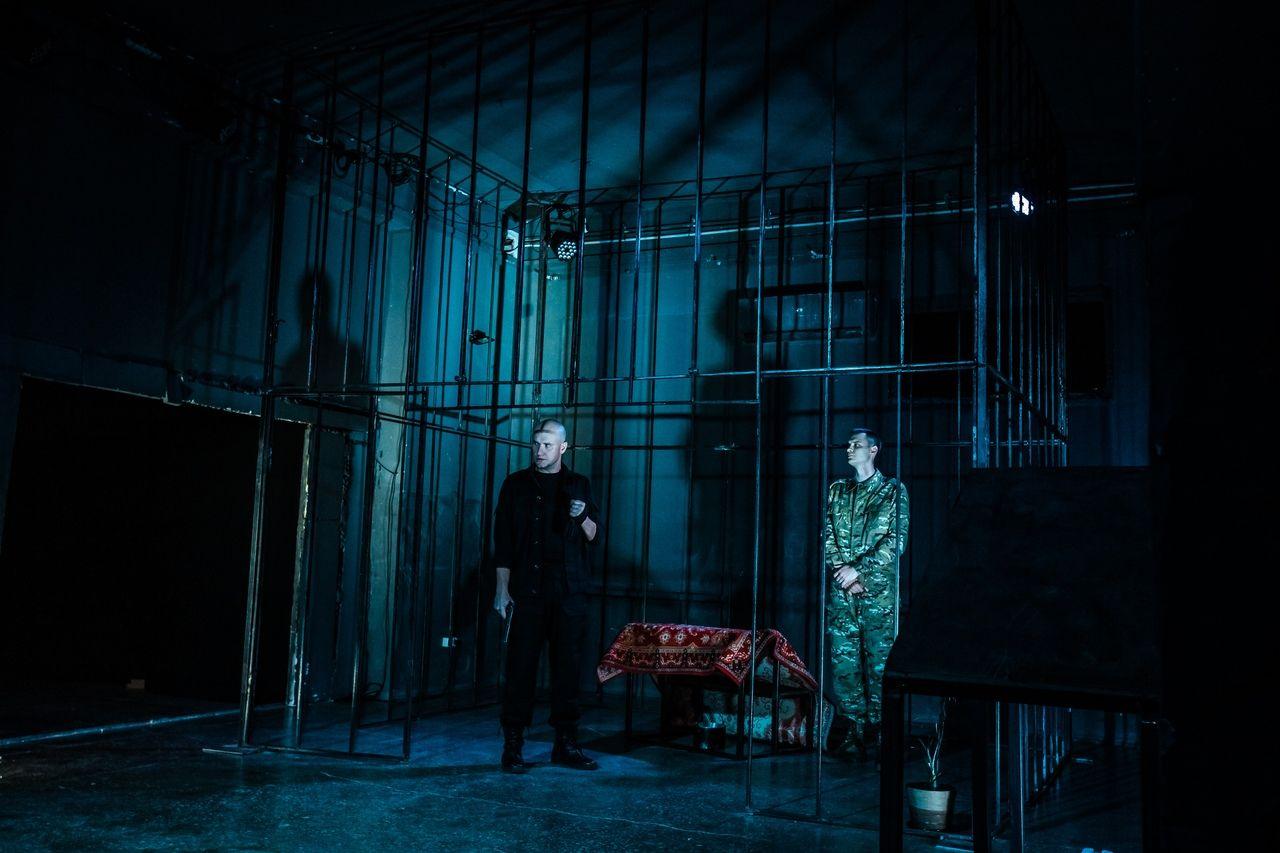 Спектакль «Отелло» ©Фотография предоставлена частным независимым театром «Мой»