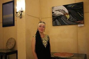 Руководитель выставочного центра «Наследие» Ирина Гуилли ©Фото Анны Маевой, Юга.ру