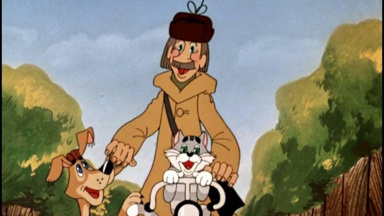 Кадр из мультфильма «Трое из Простоквашино»