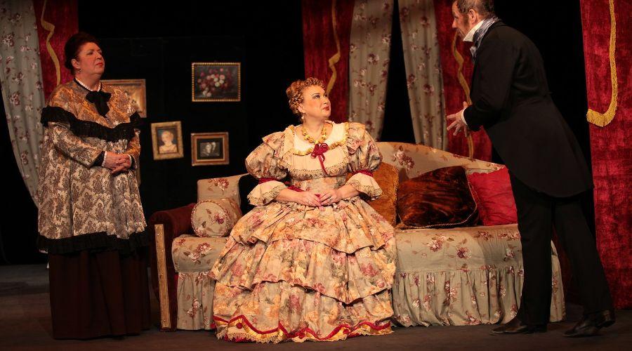 Спектакль «Женитьба» © Фото из группы «Театр Драмы» «ВКонтакте» vk.com/dram_teatr