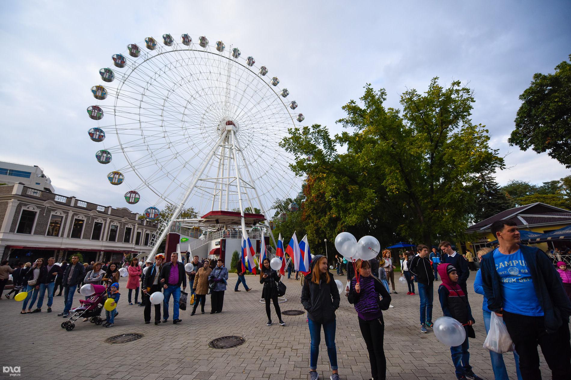 День города в Краснодаре. День первый ©Фото Елены Синеок, Юга.ру