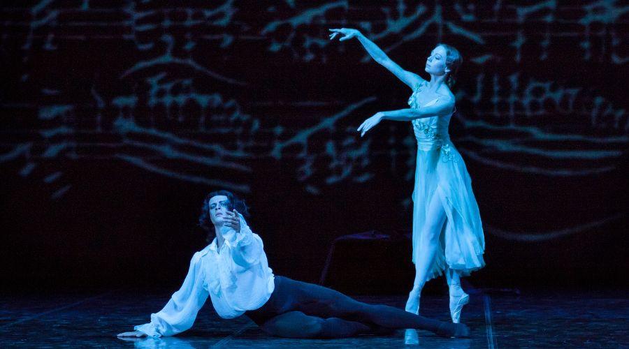 Фрагмент из балета А.Крейна «Лауренсия» © Фото Татьяны Зубковой
