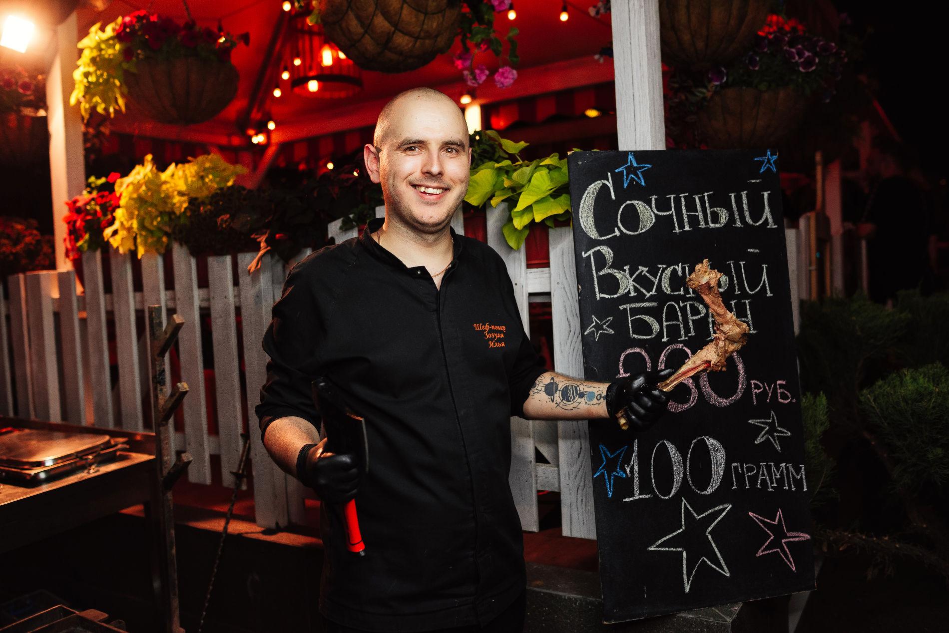 Шеф-повар ресторана «Пиноккио Djan» Илья Зозуля ©Фото предоставлено рестораном «Пиноккио Djan»