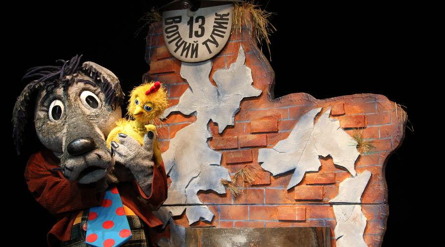 Золотой цыпленок © Фотография предоставлена пресс-службой Краевого театра кукол