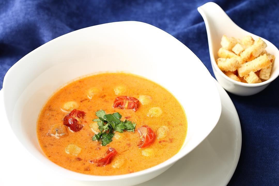 Тосканский суп ©Фото со страницы ресторана «Фамилия» в инстаграме, www.instagram.com/familia_rest