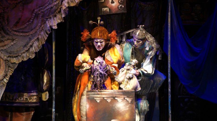 Синяя борода © Фотография предоставлена пресс-службой Краевого театра кукол