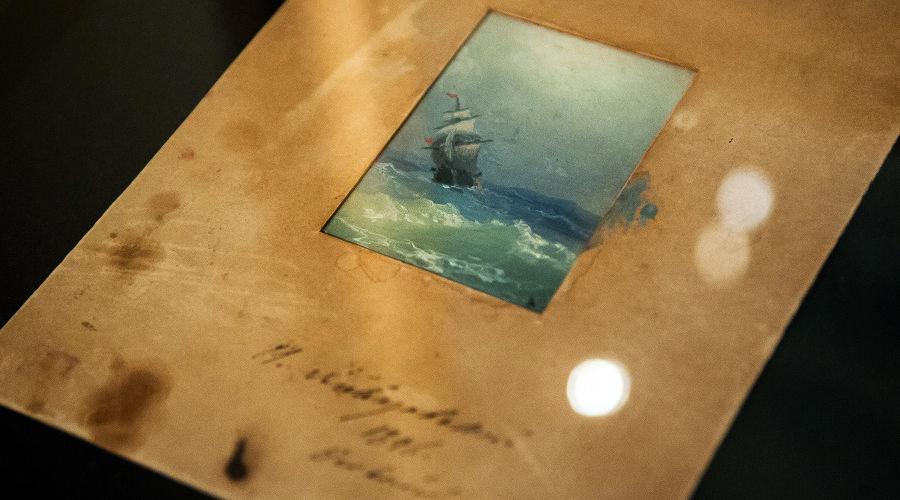 Выставка картин Айвазовского из собрания трех музеев юга России © Фото Елены Синеок, Юга.ру