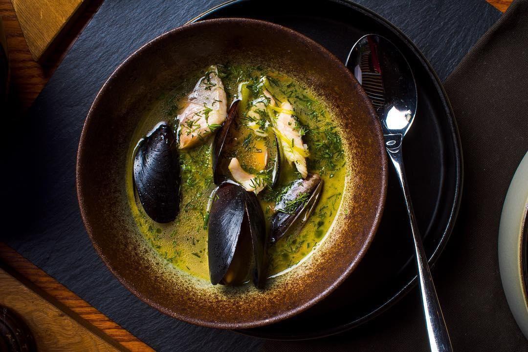 Черноморская похлебка ©Фото со страницы ресторана «Сын мясника» в инстаграме www.instagram.com/sonbutcher