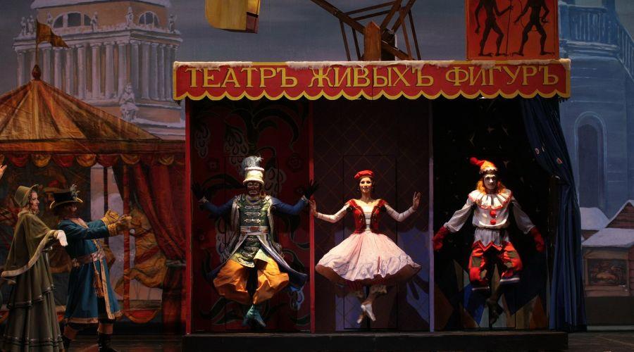 картинка петрушка кукла балет стравинского