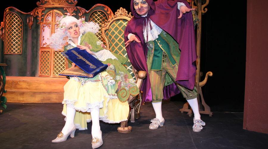 Дюймовочка © Фотография предоставлена пресс-службой Краевого театра кукол