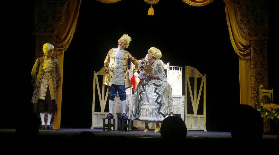 Царь-Пузан © Фотография предоставлена пресс-службой Краевого театра кукол