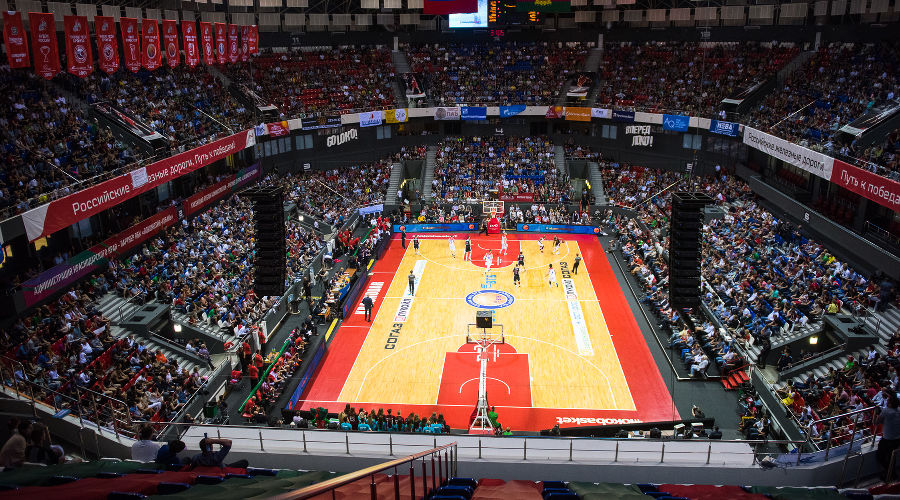 Арена «Баскет-Холл» © Фото Елены Синеок, Юга.ру