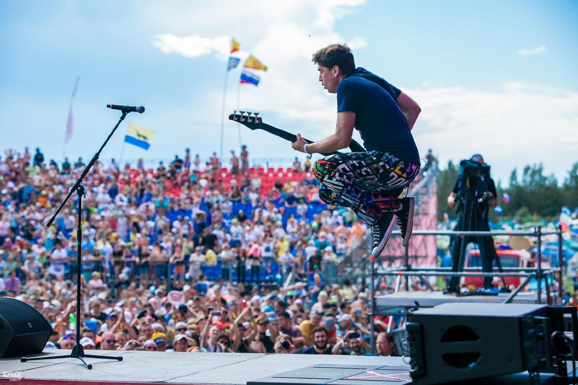 Рок-фестиваль «Нашествие-2016» ©Фото Евгения Резника, ЮГА.ру