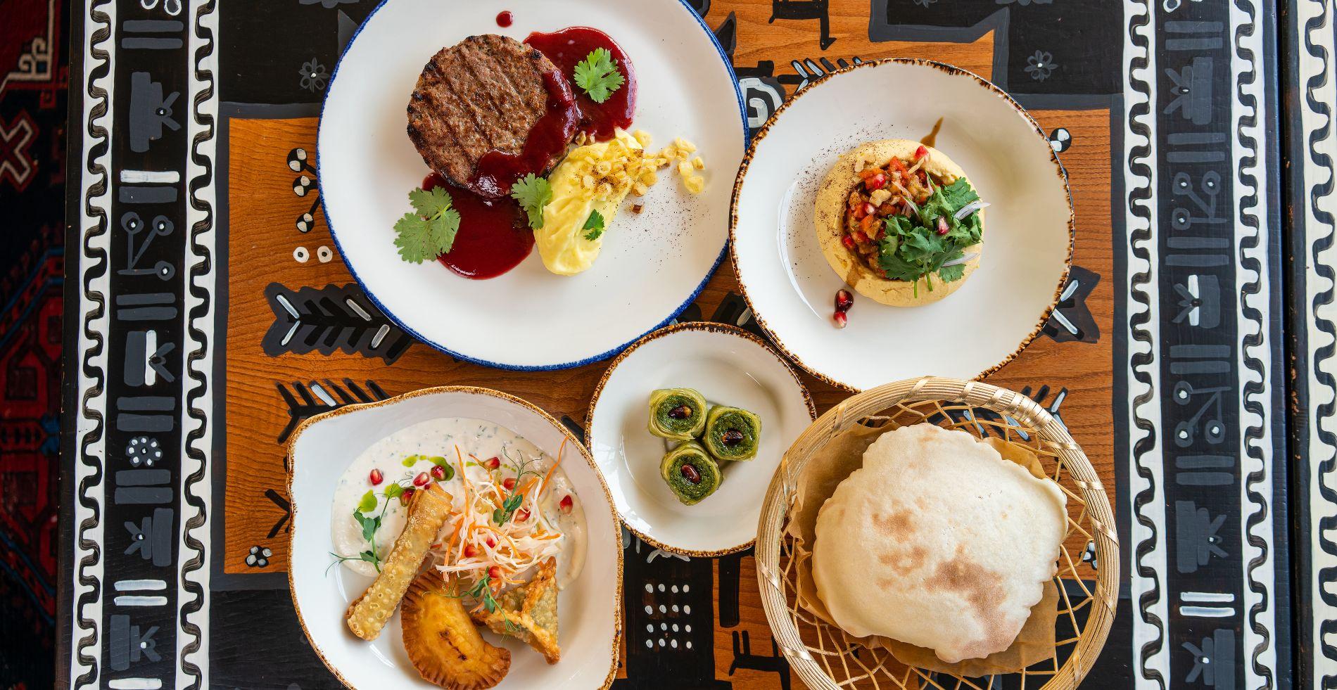 Сет от ресторана «Огонёк» ©Фотография предоставлена организаторами Российского ресторанного фестиваля