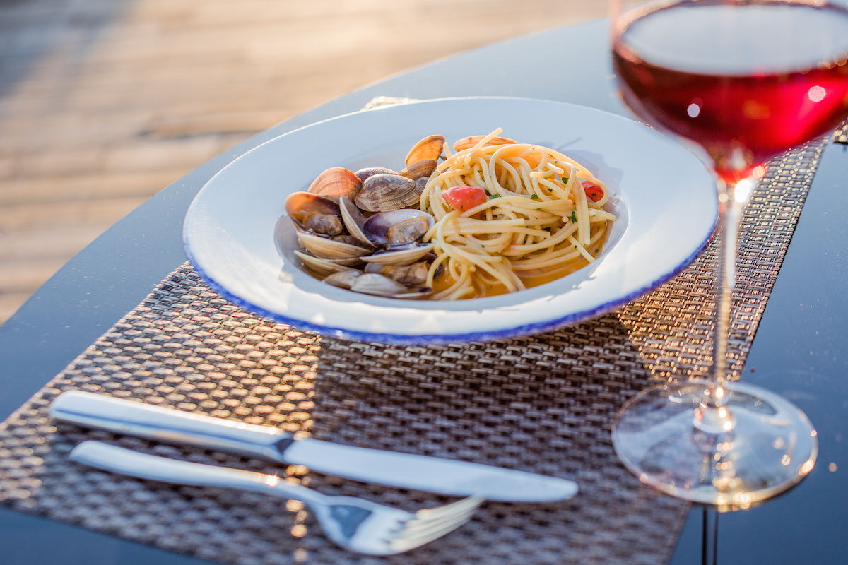 Спагетти с вонголе