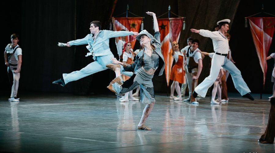 Балет «Золотой век» Театра балета Юрия Григоровича © Фото Станислава Телеховца