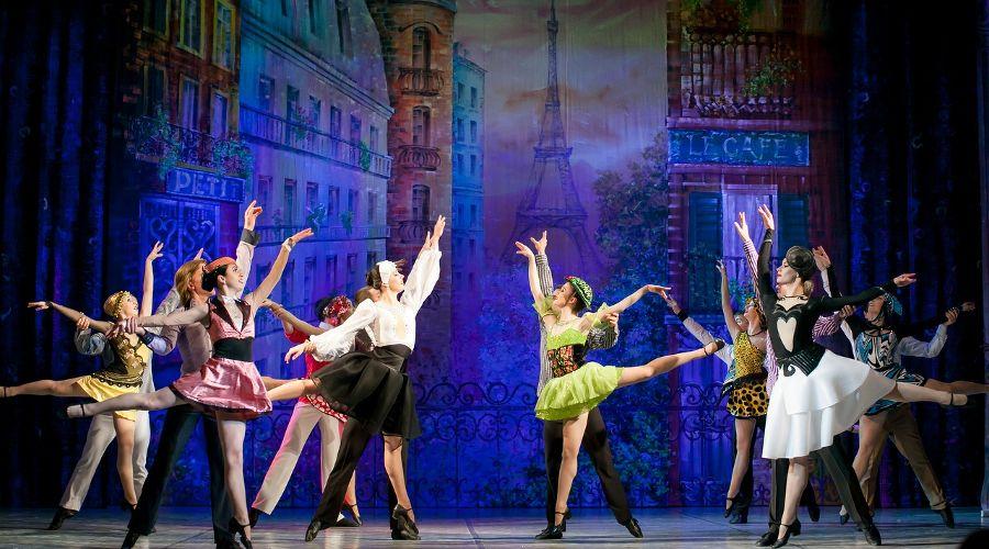 Кадр из спектакля «Tango» © Фотография предоставлена пресс-службой краснодарской филармонии
