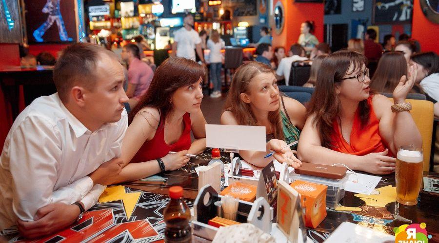 Квиз «Язнаю!» © Фото Андрея Баксова из группы «Язнаю! - квиз в Краснодаре» «ВКонтакте» vk.com/iknow_krd