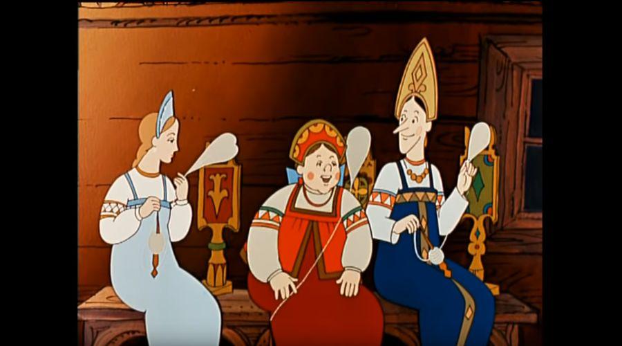 Сказка о царе Салтане © Скриншот видео с сайта youtube.com
