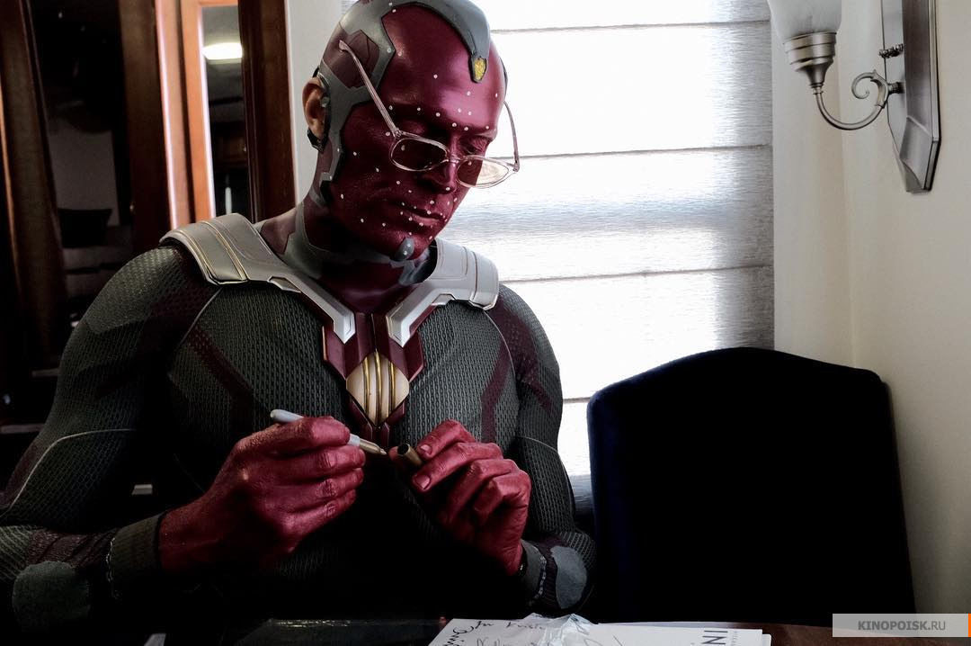 Кадр со съемок фильма «Мстители 4»
