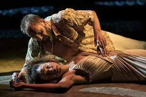 Спектакль «Антоний и Клеопатра» © Фото с сайта theatrehd.ru