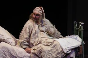 Спектакль «Мертвые души. Часть первая. Начало» © Фотография предоставлена Молодежным театром КМТО «Премьера»