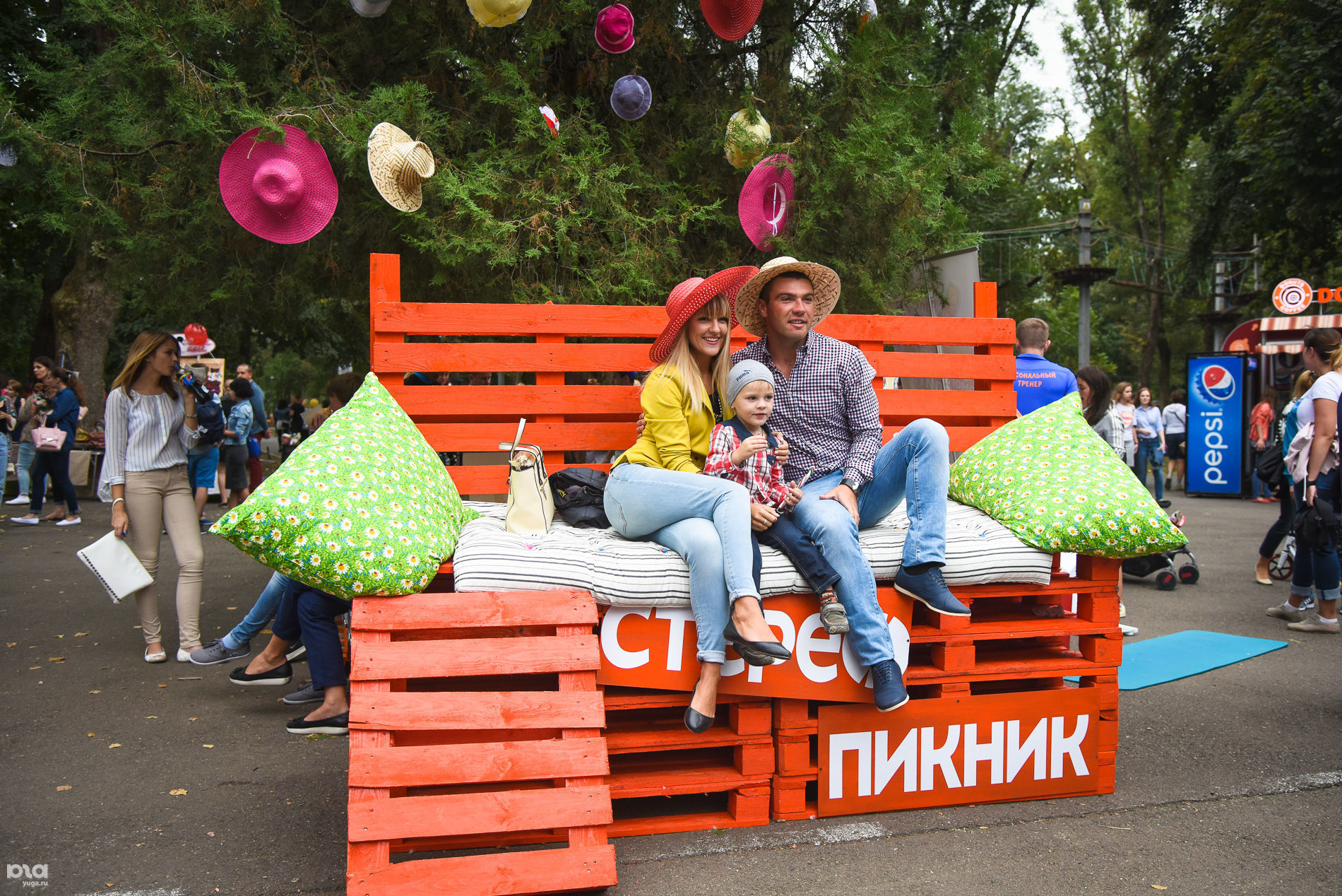 Фестиваль «Стереопикник» в Краснодаре ©Фото Елены Синеок, Юга.ру