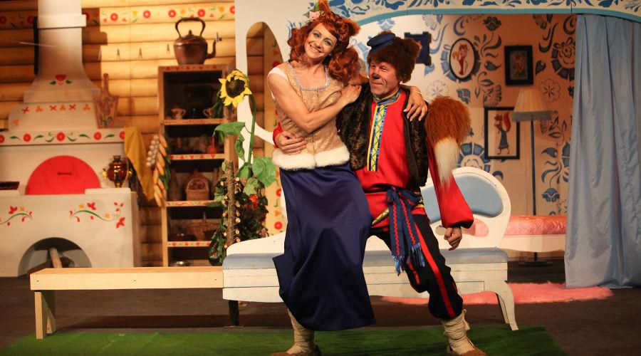 Лиса и Медведь © Фотография предоставлена пресс-службой театра драмы